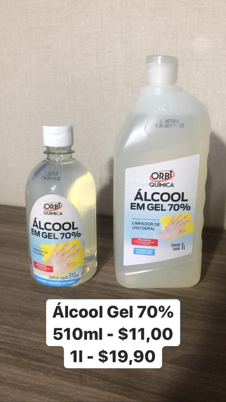 foto de Álcool Gel 70%