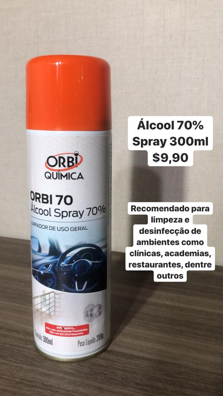 foto de Álcool Spray 70%
