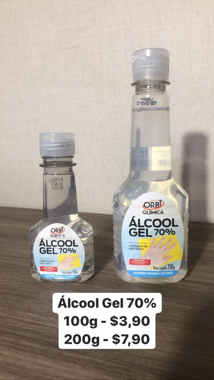 foto de Álcool em Gel 70%