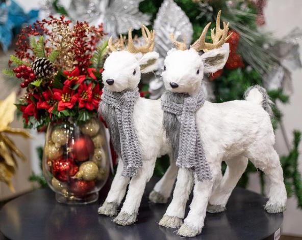 foto de Decorações natalinas!