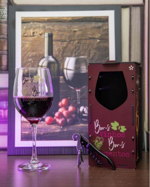 foto de Você é fã de vinhos? Então Confira nossas taças temáticas!!