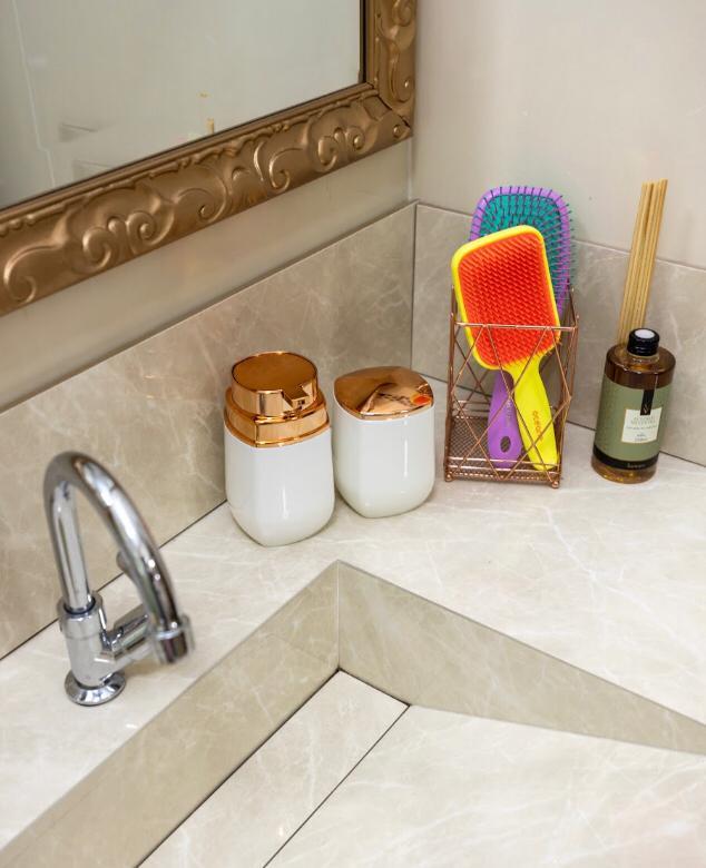 foto de Para deixar o seu banheiro sempre organizado