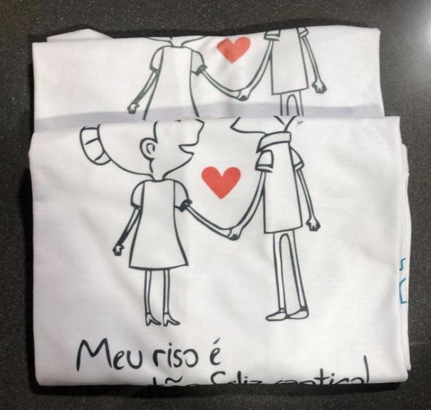 foto de Nova Infortel - Dupla Camiseta Sabetudo - Dia Dos Namorados