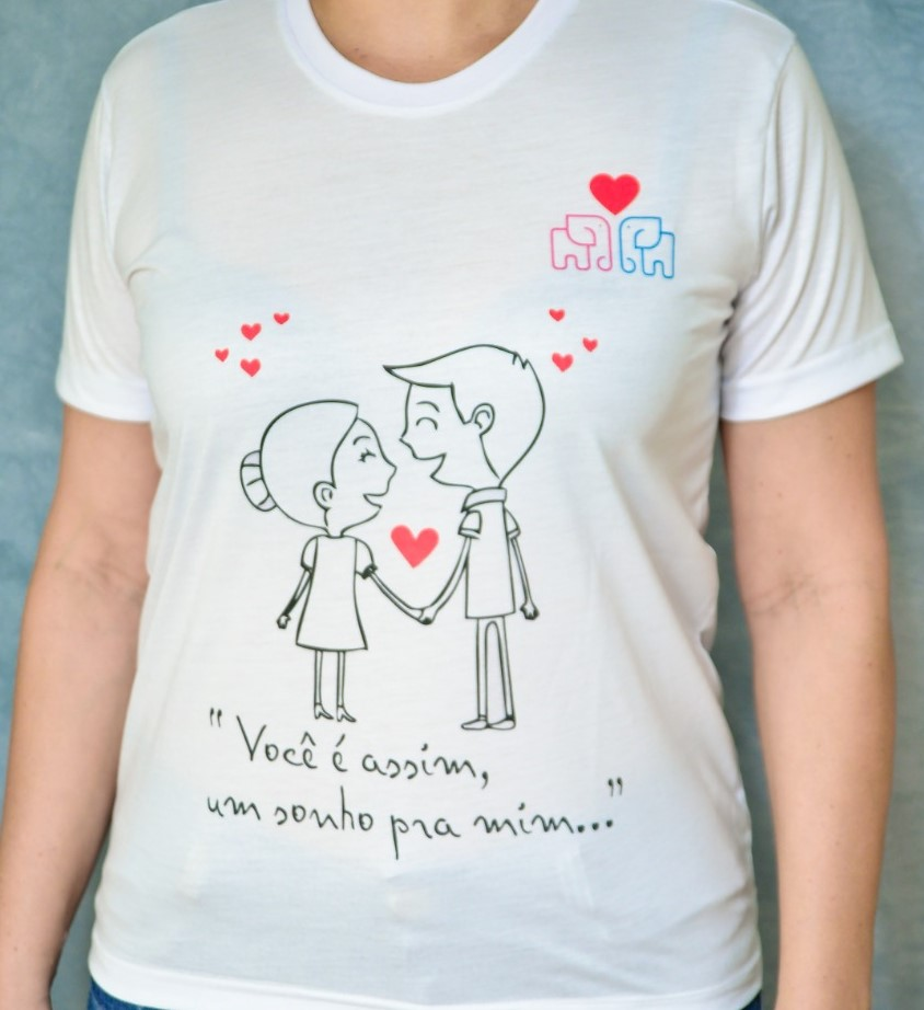 foto de NOVA INFORTEL  - Produto - Promoção Camisetas Apaixonadas