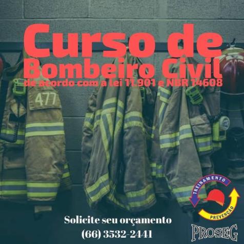 foto de Curso de bombeiro civil